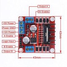 2A L298N Breakout Board